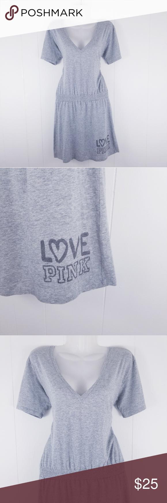 Victoriaus secret pink gray dress my posh picks pinterest