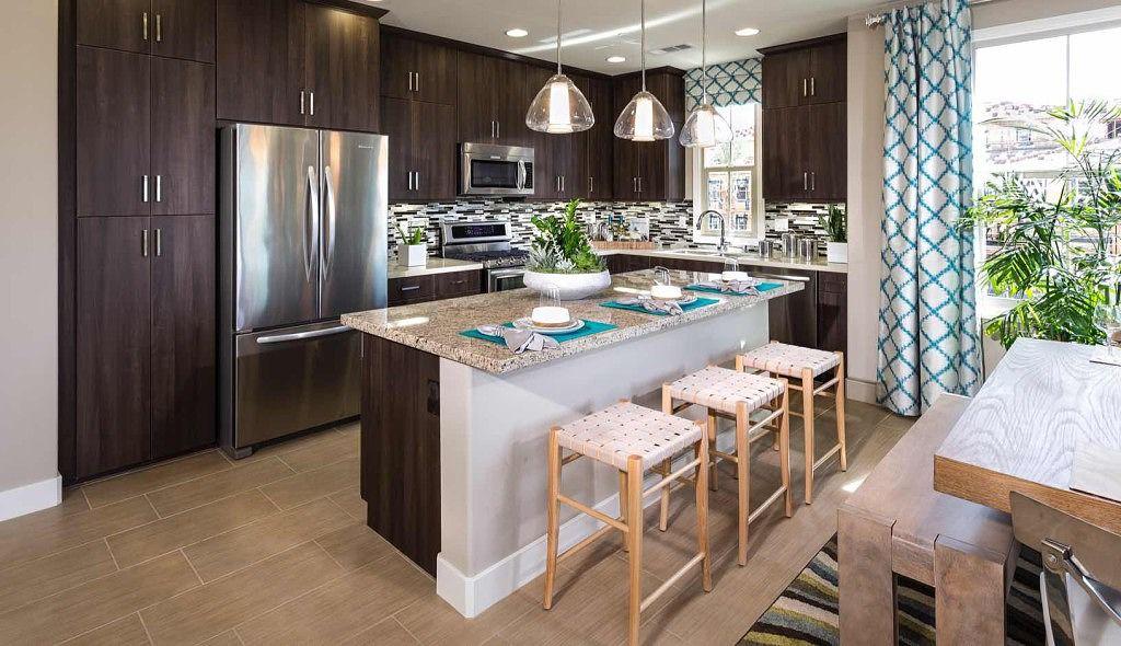 Kitchen Cariz at Portola Springs Irvine