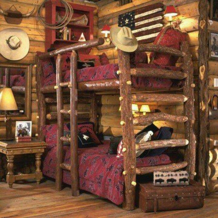 Western bedroom love it!!! Western interior, Western bedroom