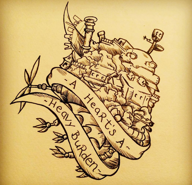 7 dreamy studio ghibli tattoos for inkspiration studio ghibli tattoo ghibli tattoo and studio. Black Bedroom Furniture Sets. Home Design Ideas