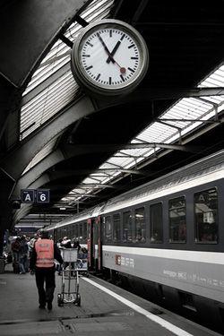 quality design 1296d 6565b Swiss Railway Clock MONDAINE(モンディーン) | i like it ...