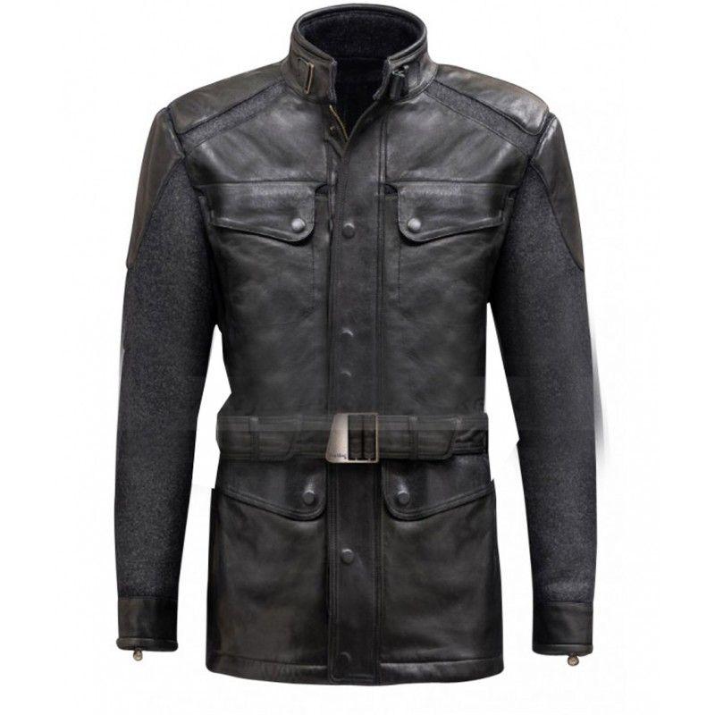 Nick The Avengers Fury (Samuel L. Jackson) Leather Jacket l