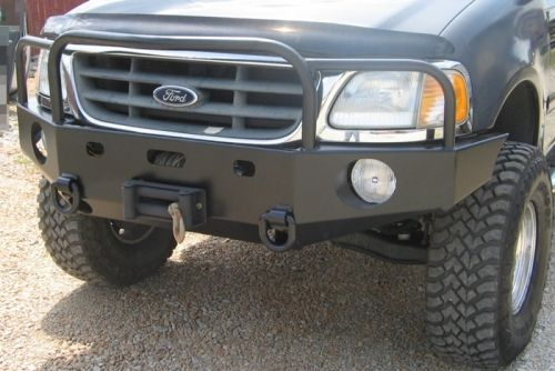 Front Winch Bumper Ford F 150 Expedition 97 03 Winch Bumpers Truck Bumpers Ford F150
