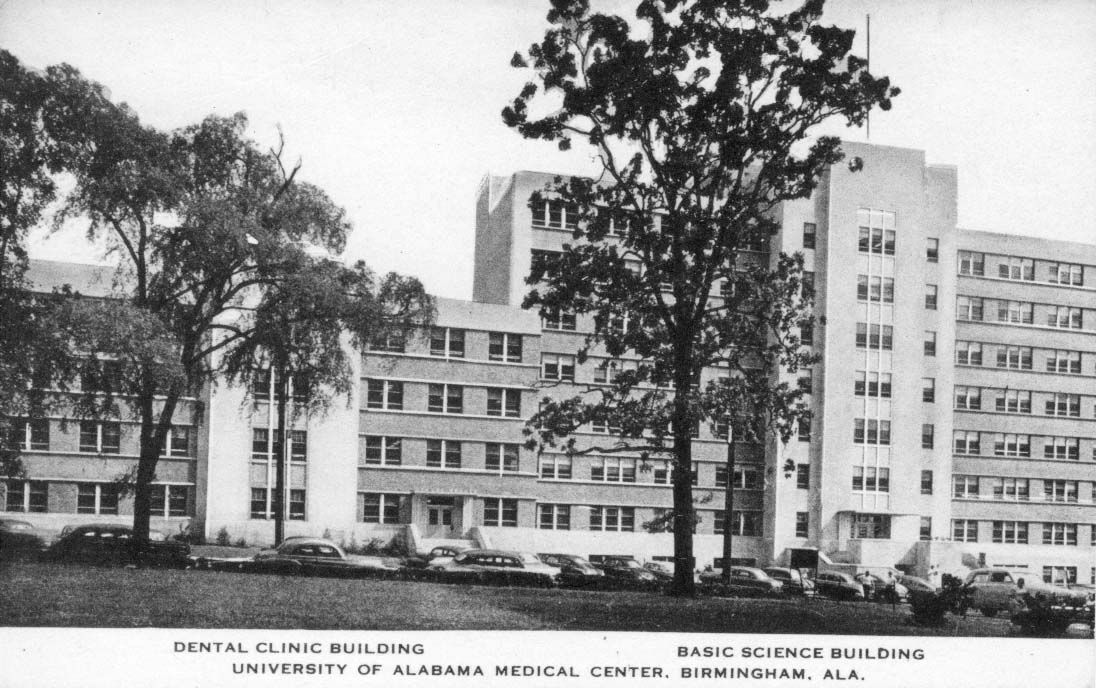 School of Dentistry at the UAB Medical Center - about 1950