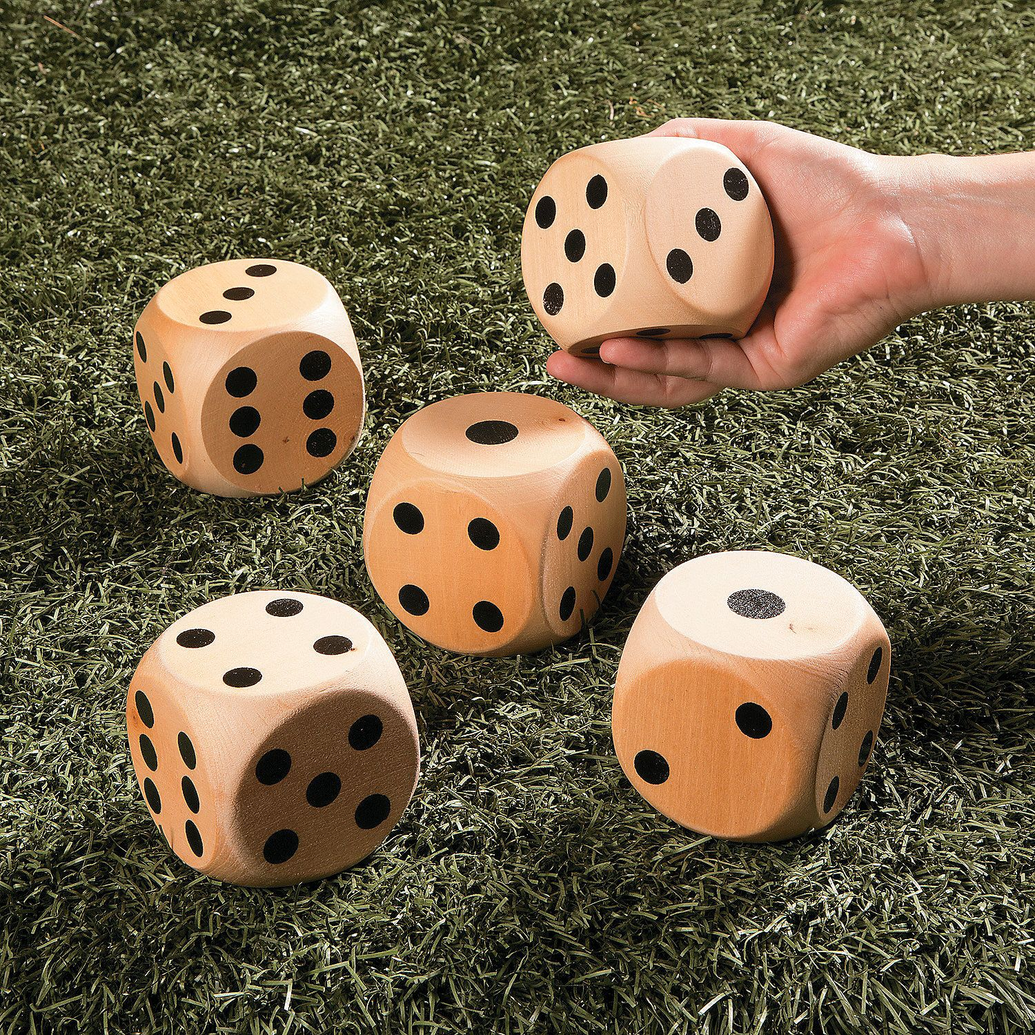 Garden Dice Game Discontinued Dice games, Life size