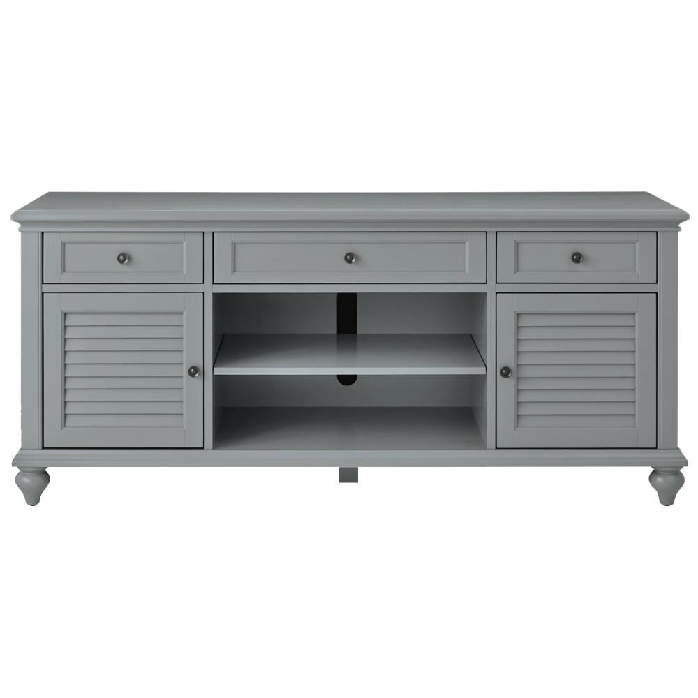 huge discount b5a37 a775a Home Decorators Collection Hamilton 26 in. Grey TV Stand ...