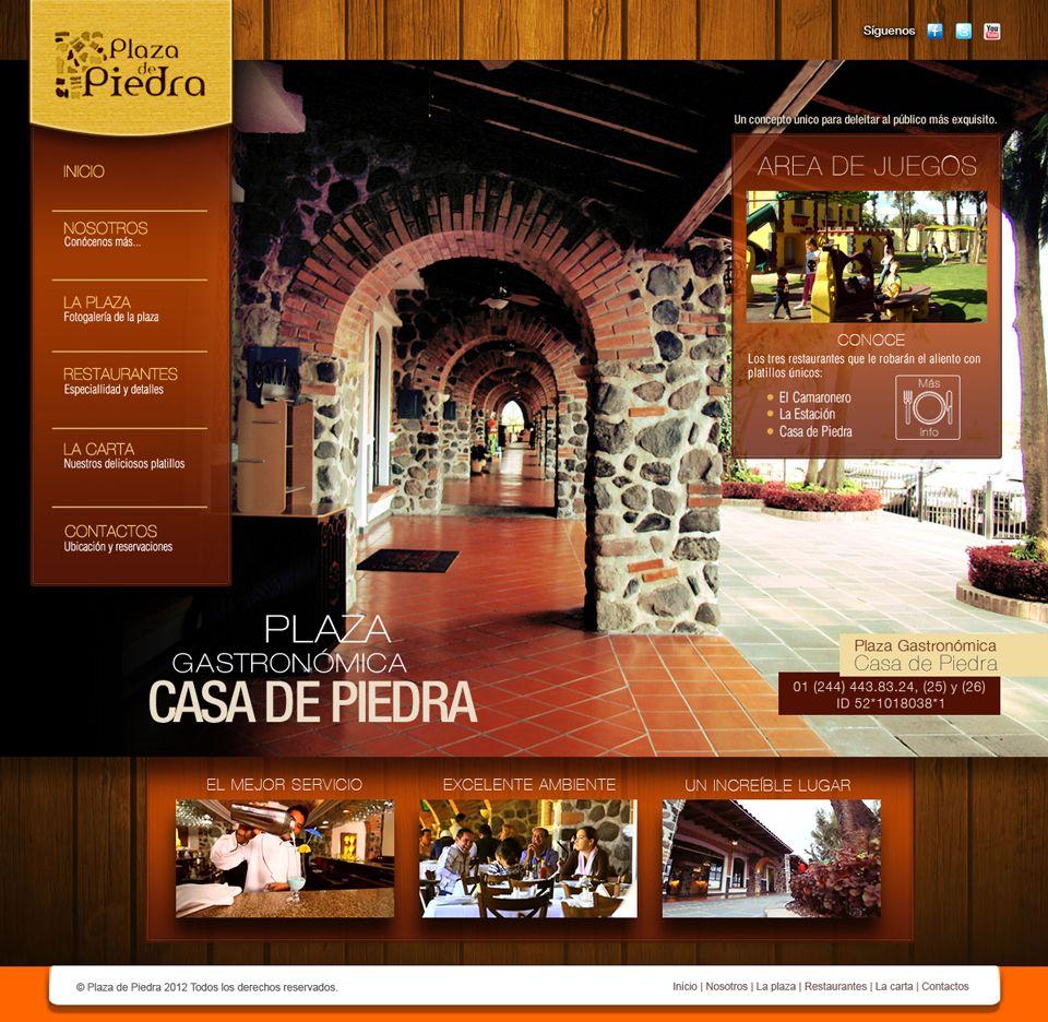 La Plaza de Piedra ® sitio web. Home.
