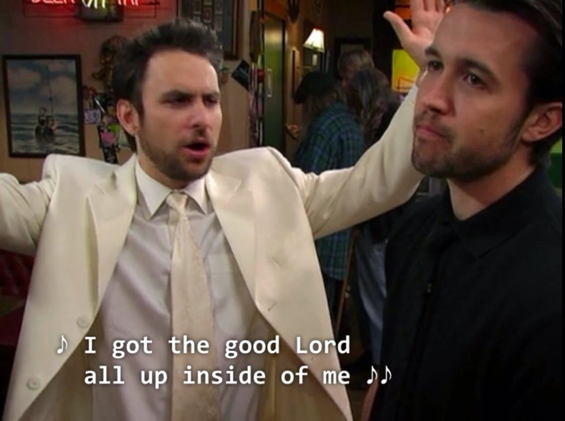 Pin By Emily Peters On Media It S Always Sunny In Philadelphia It S Always Sunny Charlie Day