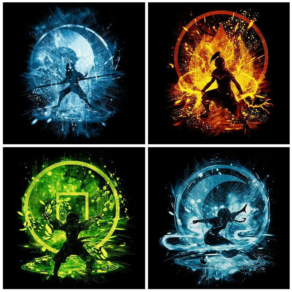 Avatar The Last Airbender. The elements | Avatar airbender, The last  airbender, Avatar aang