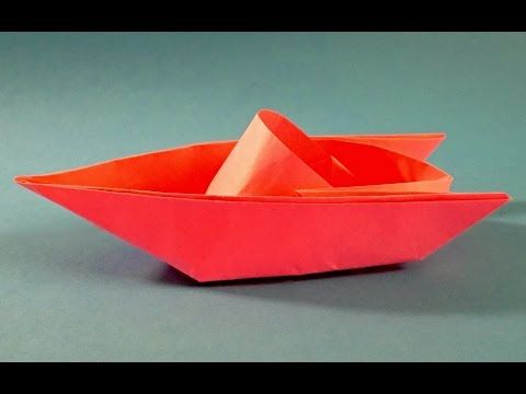 Paper Boat That Floats On Water Origami Sailing Boat Tutorial