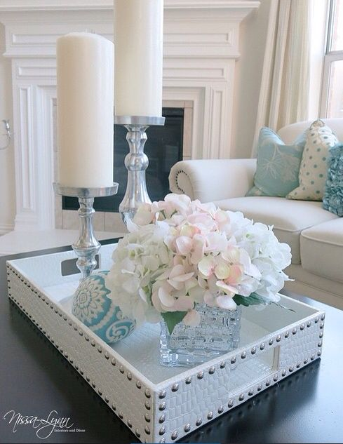 Flowers and candles... perfect combination :) | Home Decor ...