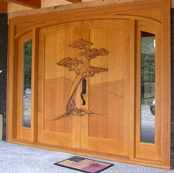Wooden carving main doors exterior designs pinterest