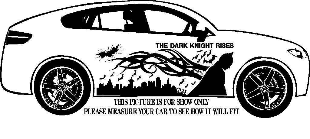 Batman Tribal decal, graphic, vinyl for side of car or truck (161401702108) by LarsonsCustomGraphic on Etsy
