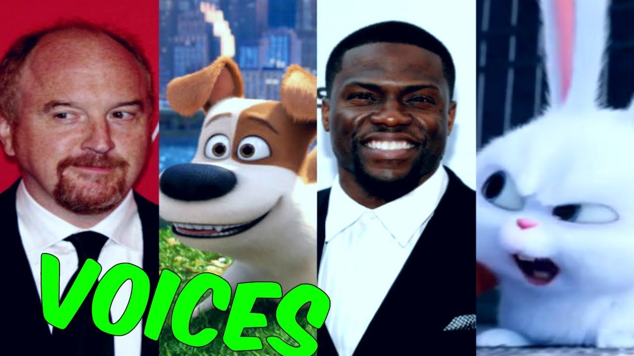 The Secret Life Of Pets Characters And Voices Secret Life Of