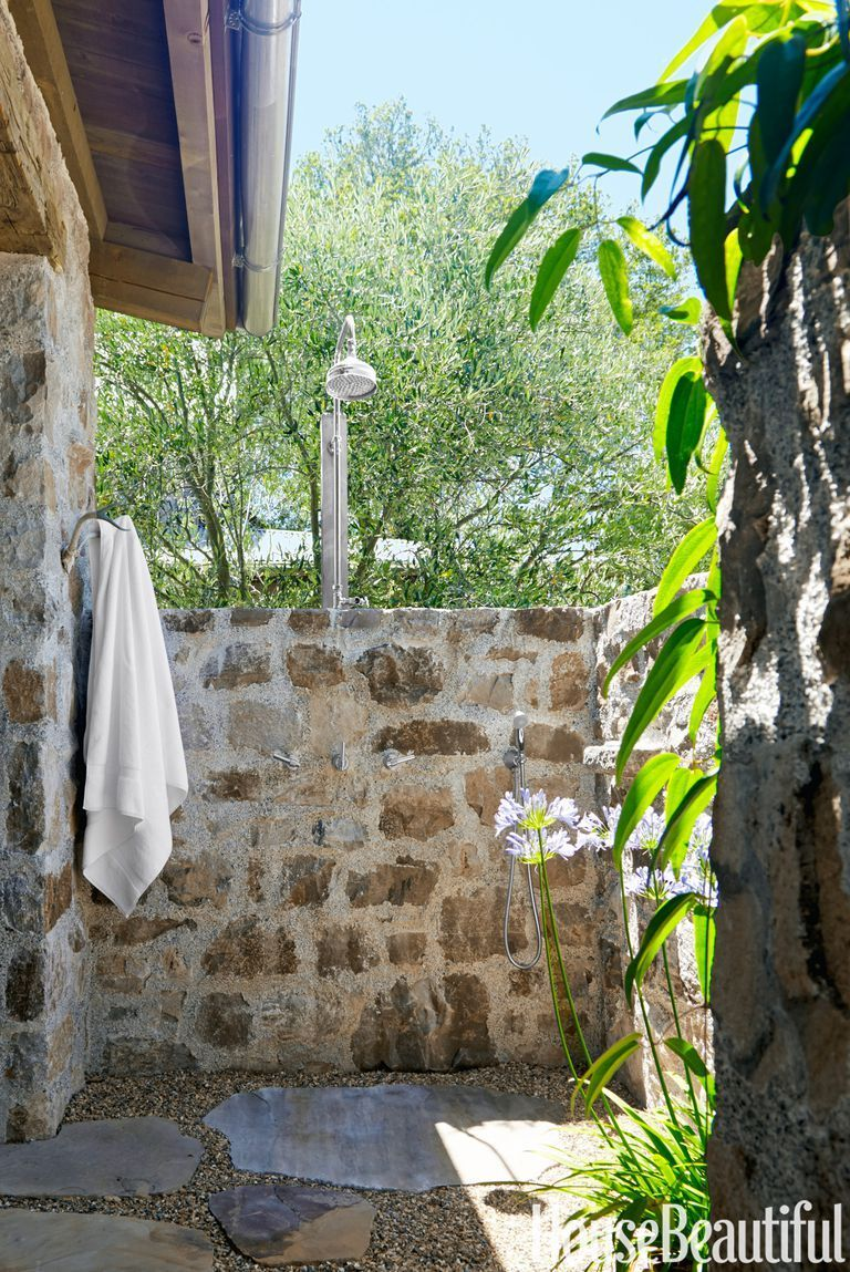 Backyard Shower 35 Unique Backyard Ideas To Steal For Your House Unique Backyard