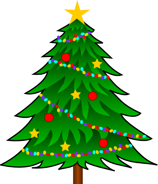 Various Christmas Tree Collection Free Vector Graphics Vect 556 471 Free Clipart Down Christmas Tree Clipart Christmas Tree Art Handprint Christmas Tree