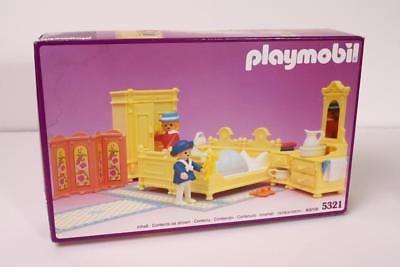Playmobil 5321 Vintage 1989 Victorian Mansion Bedroom NEW