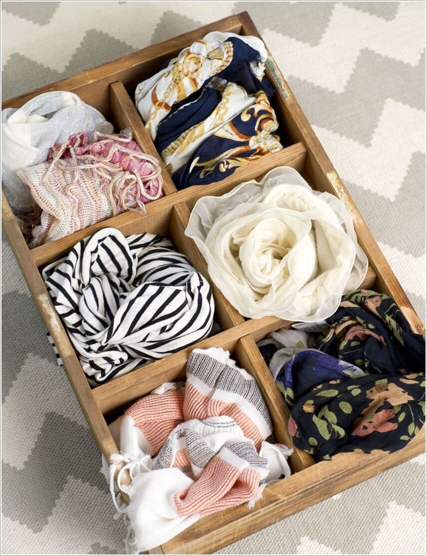 15 clever diy scarf storage ideas scarf storage scarf