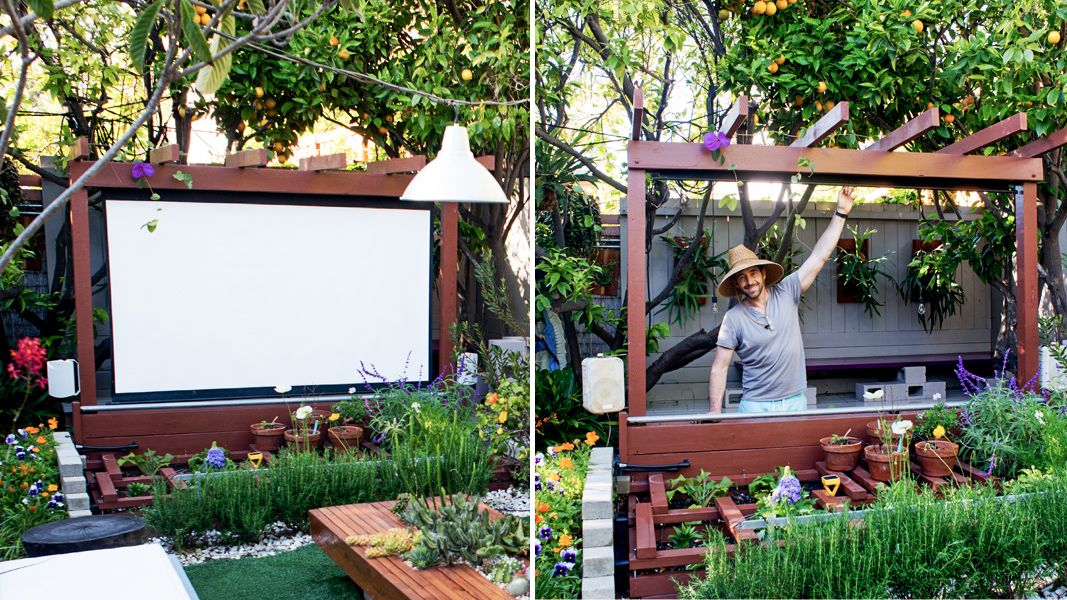 Show Thyme How to Build an Outdoor Theater in Your Garden