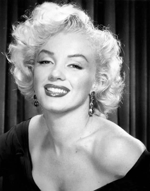 Marilyn Monroe, atriz norte-americana e uma das mais famosas estrelas do cinema em todos os tempos.