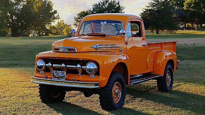 1952 Ford F2 Maintenance Restoration Of Old Vintage Vehicles The