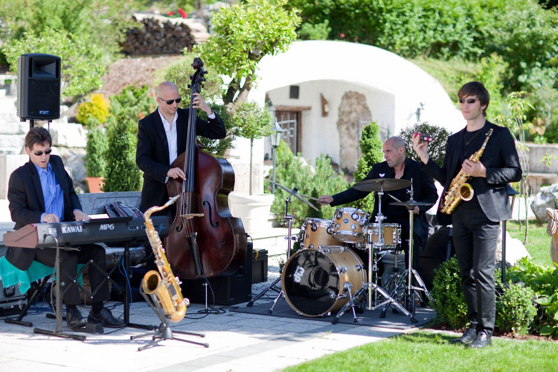 Jazzband Fur Hochzeiten Hochzeitsmusik Jazz Hochzeit