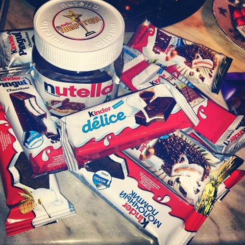 #Nutella #Kinder