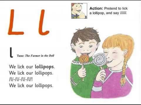 Jolly Phonics Alphabet Book
