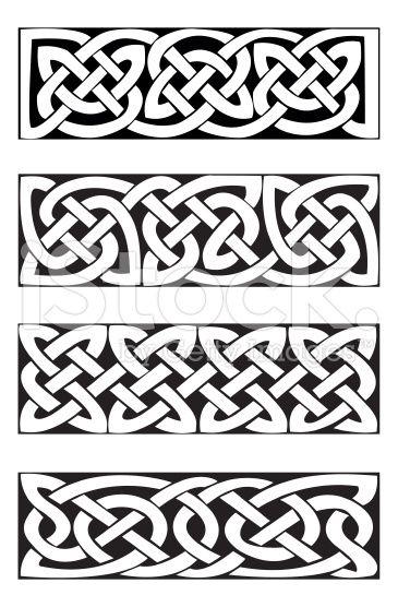 Celtic knot motifs. vector. | Skatch Jewelry | Pinterest | Nudos ...