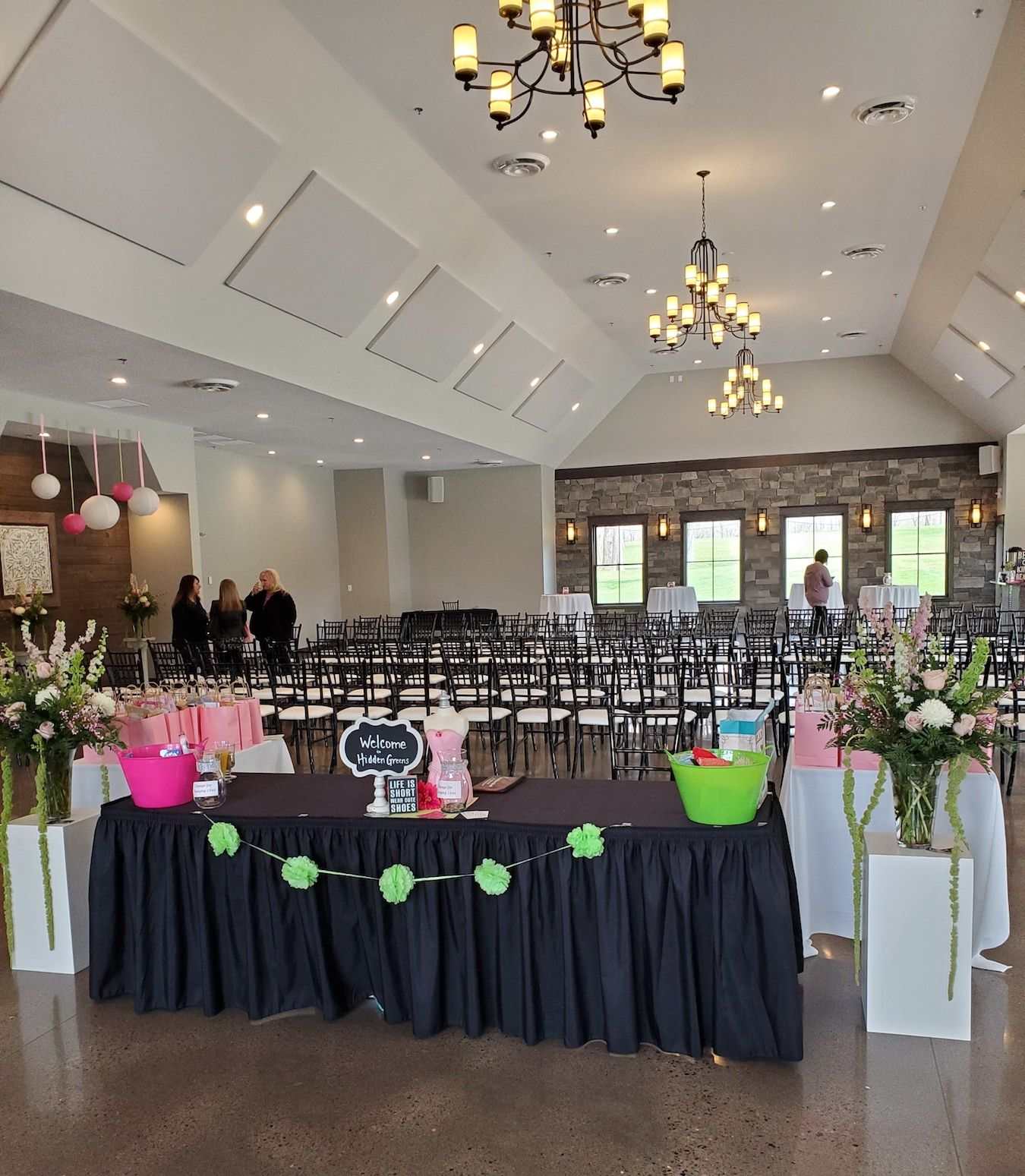 When looking for a venue, take guest capacity, indoor ...
