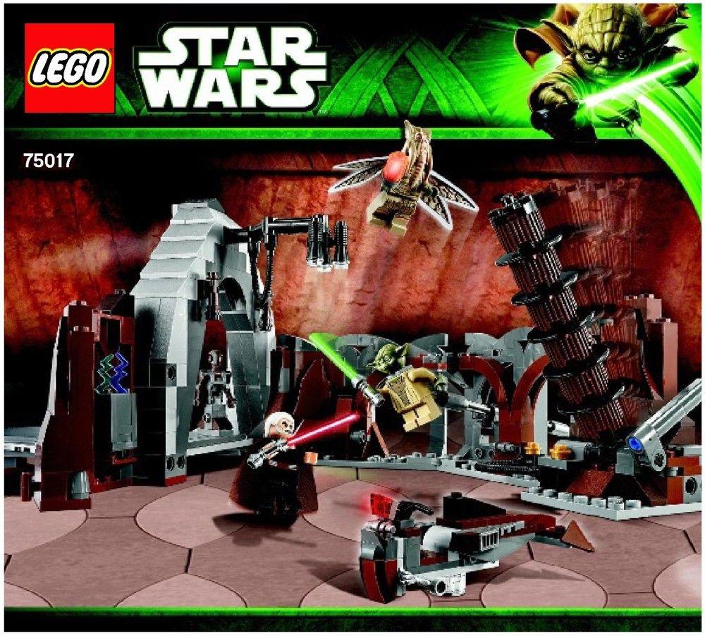 Star Wars Episode 2 Duel On Geonosis Tm Lego 75017 Lego Sets