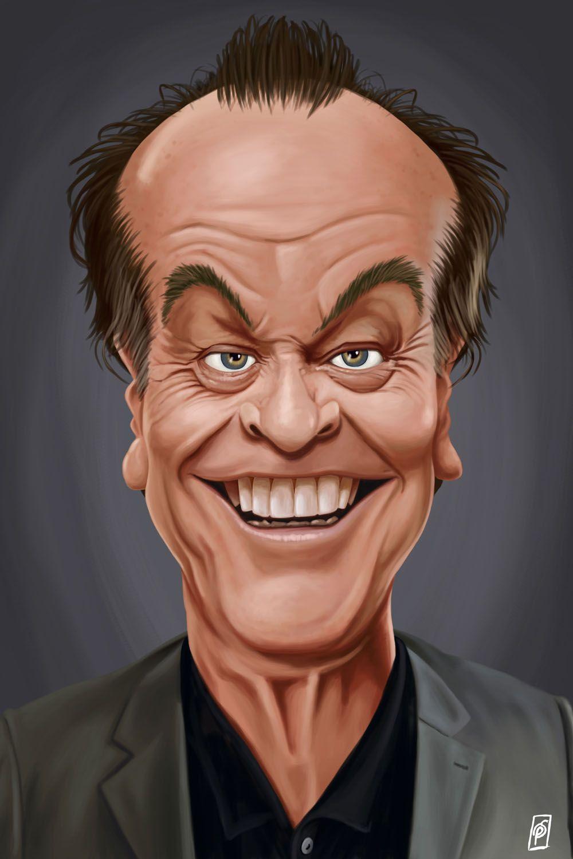 Jack Nicholson I - Canvas Print