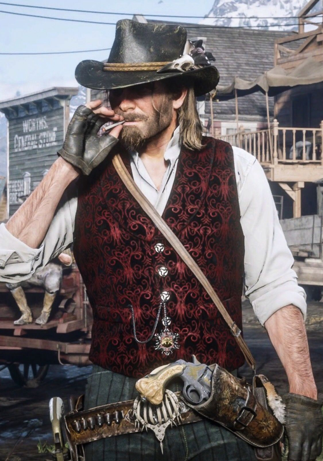 Cool Rdr2 Outfits : outfits, Outfits, Arthur, Redemption, Artwork,