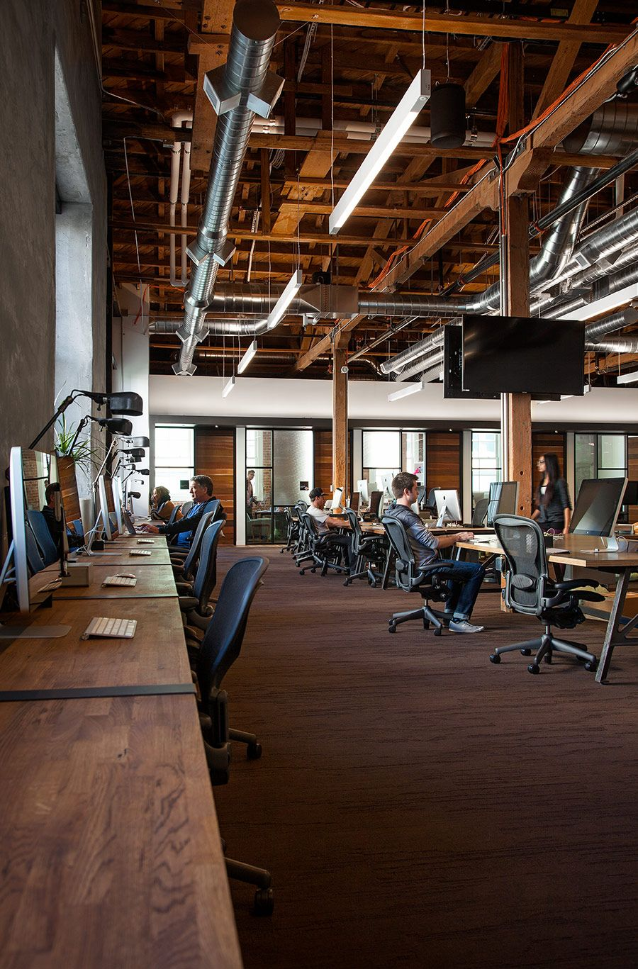 GitHub, a popular web-based hosting service that offers both paid plans for private repositories, and free accounts for open source projects, hired design firms Studio Hatch, MASHstudios and FENNIE+MEHL Architects to design their new offices ... Read More