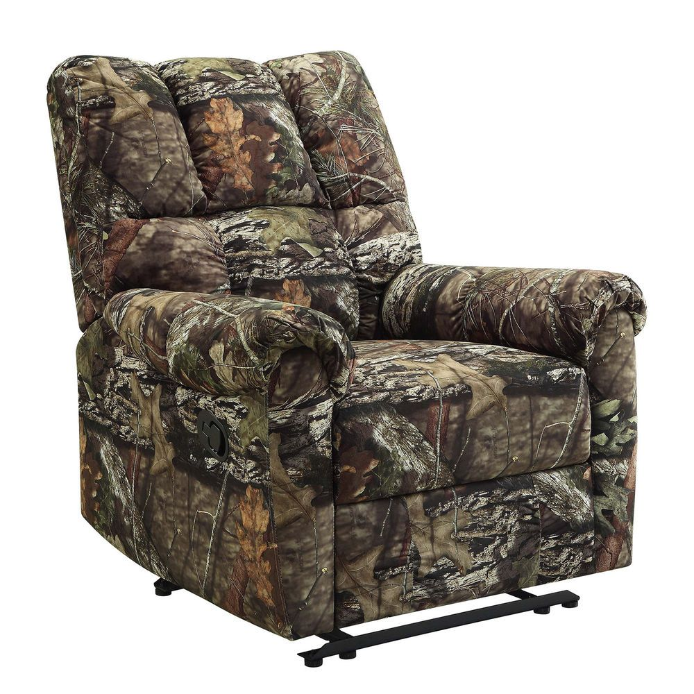 Mossy Oak Break Up Country Kick Out Living Room Camo Recliner Mossyoak With Images Rocker Recliners Recliner Power Recliners