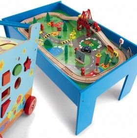 NEW Tinkers Wooden Train Table | Gifts | Pinterest | Train table and ...