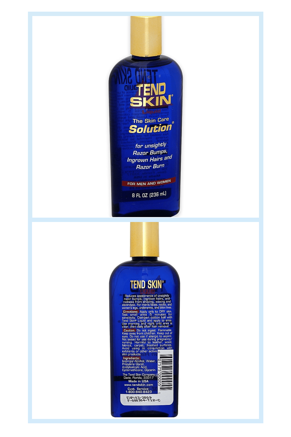 Tend Skin The Skin Care Solution 8 Oz Unsightly Razor Bumps Ingrown Hair And Razor Burns Bed Bath Beyond In 2020 Ingrown Hair Tend Skin Razor Bumps
