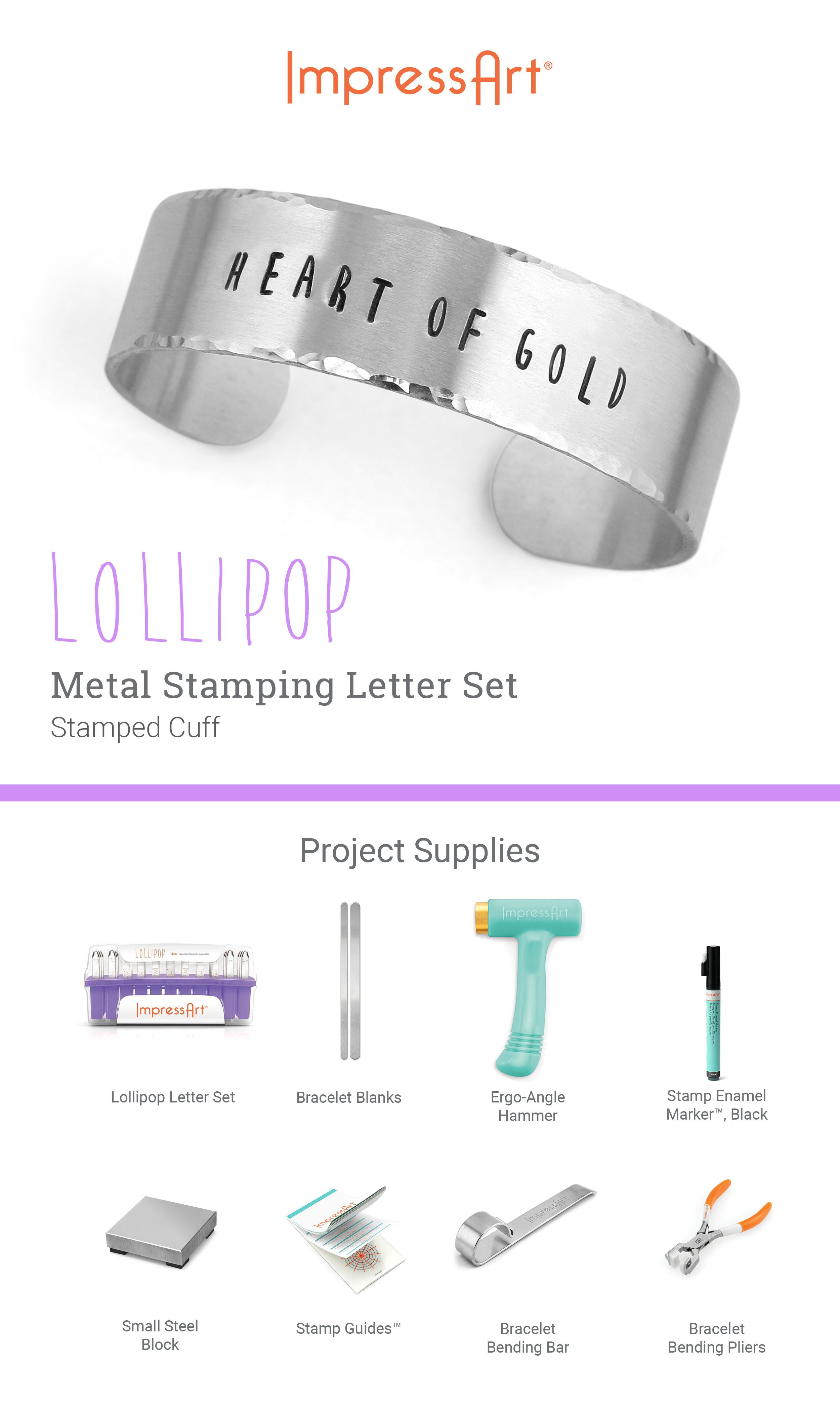Lollipop Plated Letter And Number Stamps Diy Jewelry Stamping Metal Stamping Metal Stamped Jewelry
