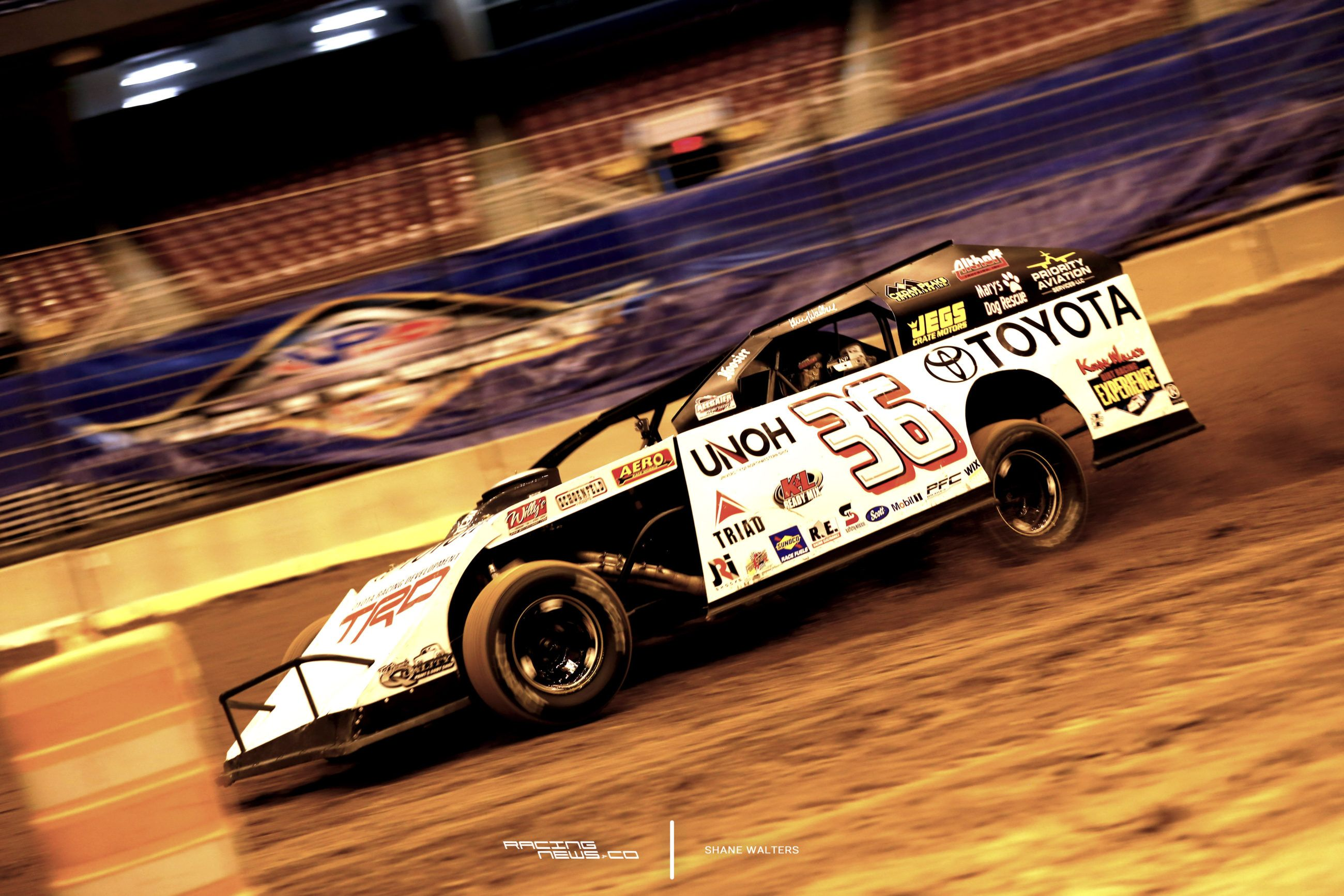 Photo of Kenny Wallace Toyota dirt modified sponsorship extended – Racing News