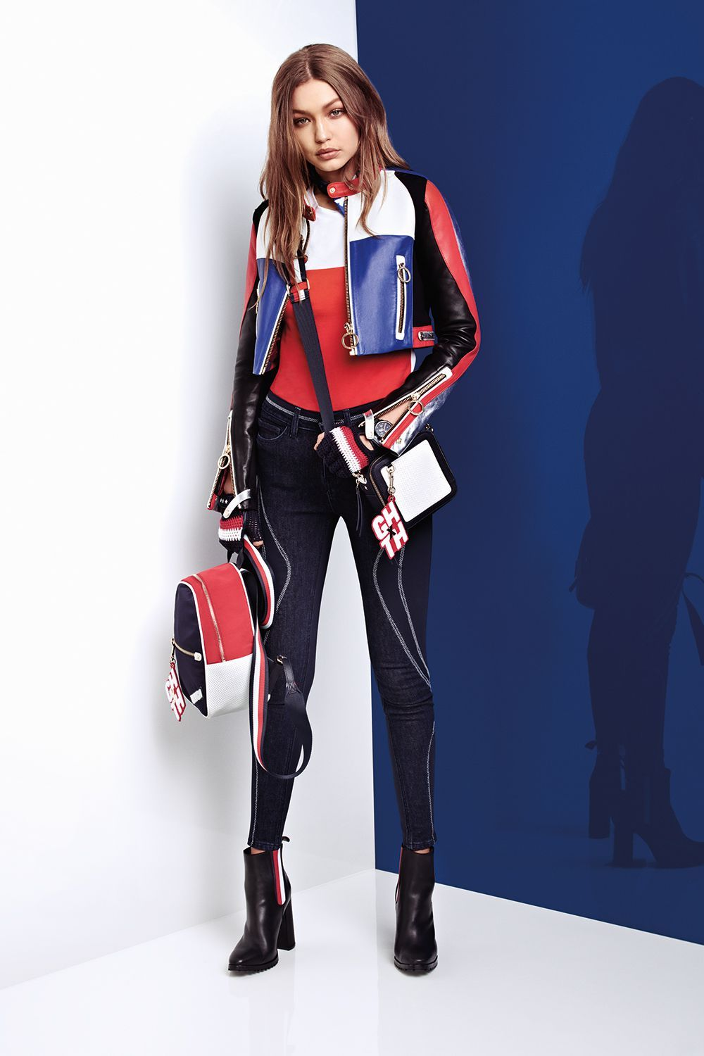 88dbae86c63c68 Gigi Hadid and Tommy Hilfiger Unveil a New Racing-Inspired Collection