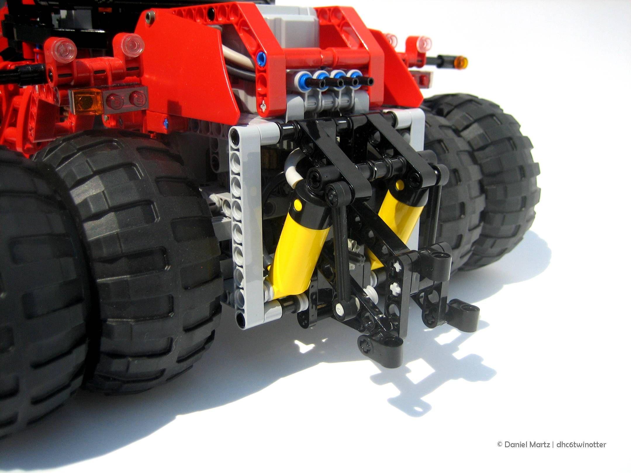 Moc Case Steiger 335 Lego Technic Mindstorms Model Team