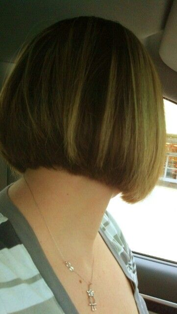 Back Of Short Bob No Layers Cool Hairstyles Hair Makeup Hair Styles