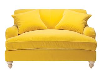 Which Colour Sofa Should You Buy Maria Killam Yellow Sofa Yellow Couch Sofa