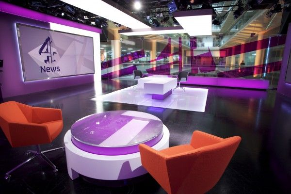 Channel 4 News Studio
