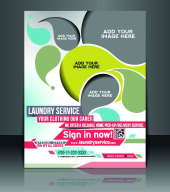 Business Flyer And Brochure Cover Design Vector   Event Poster