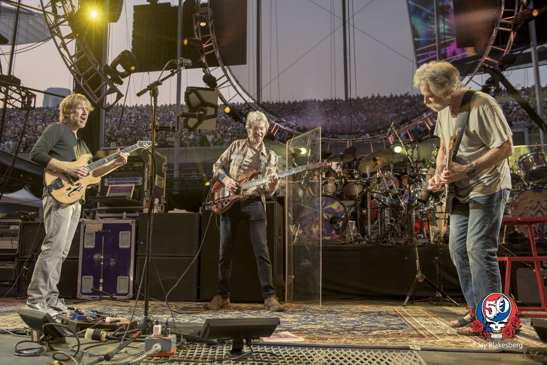 FARE THEE WELL: Grateful Dead - Santa Clara Roundup