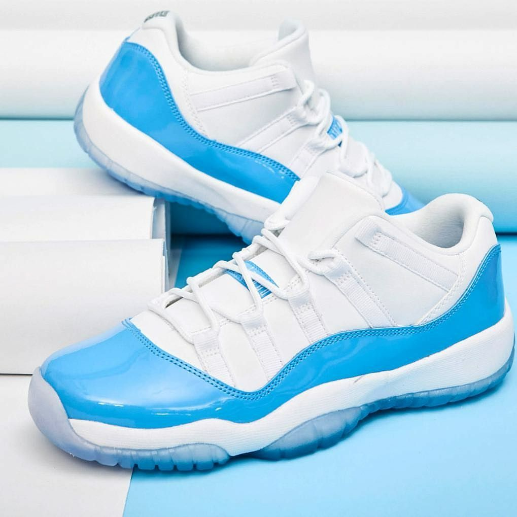 Carolina blue 11s low | Blue 11s