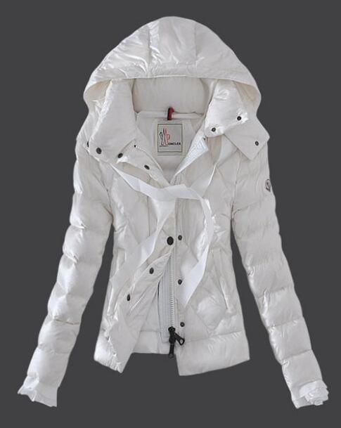moncler white womens jacket