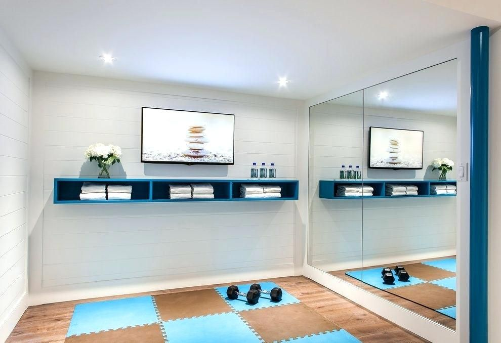 Workout room ideas home gym storage ideas home gym contemporary with images