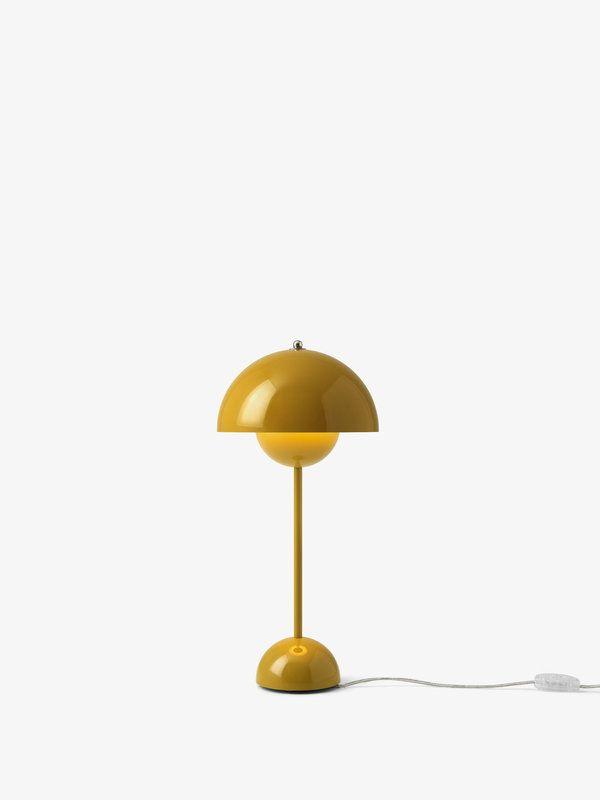 Tradition Flowerpot Vp3 Table Lamp Mustard In 2020 Table Lamp Lamp Decorative Table Lamps